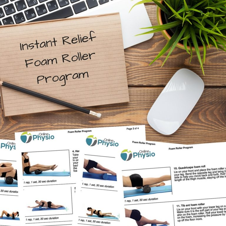 Instant Relief Foam Roller Program